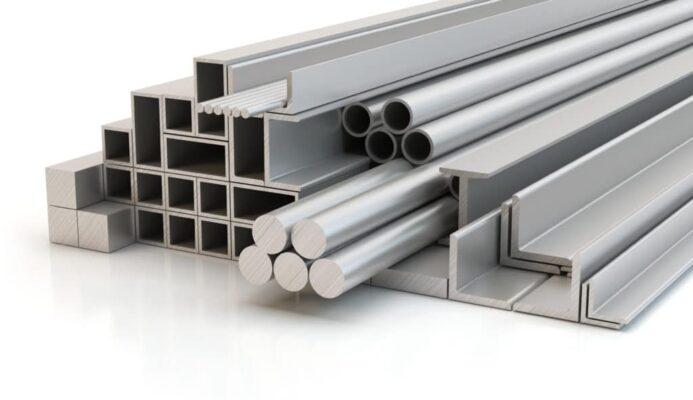 olika aluminiumprofiler